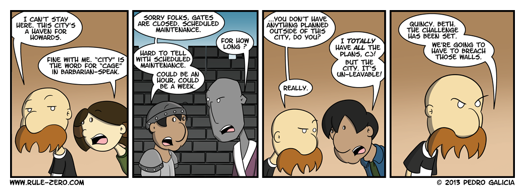 Anyone who plays MMOs sees nothing funny about the second panel.
